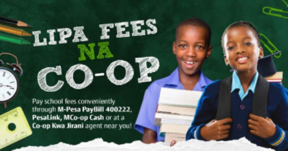 How to pay fees through Co-operative Bank. Photo: Co-operative Bank.