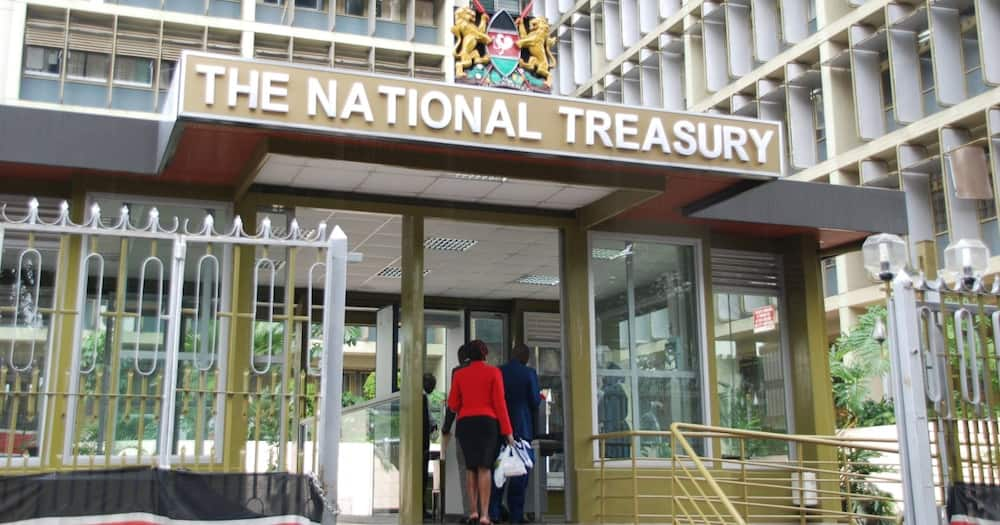 The loans translated to borrowing KSh 18.9 billion a month. Photo: The Treasury.