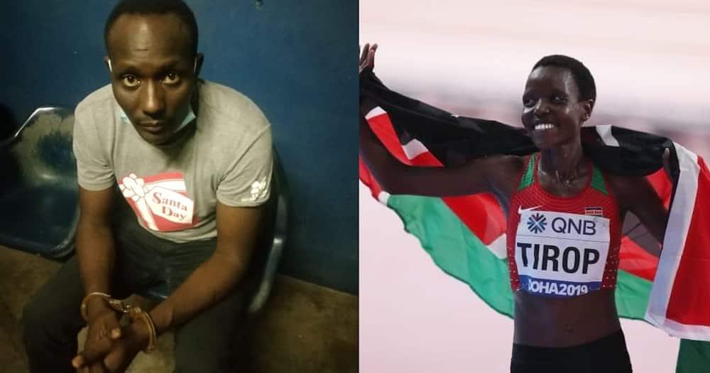 Mpenzi na mshukiwa mkuu wa mauaji ya mwanariadha Agnes Tirop akamatwa