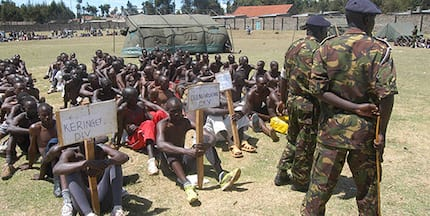 Are you ready? KDF announces mass recruitment drive