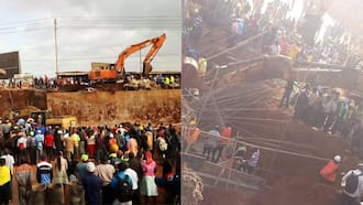 Kangemi: Several People Feared Dead as Flyover Under Construction Collapses