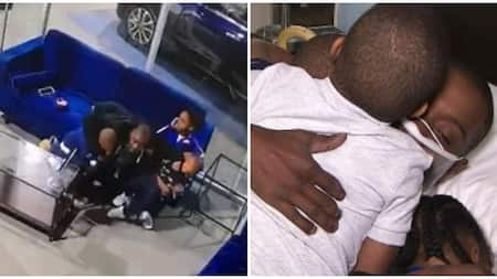 Man Who Lost His Job After Saving His Three Kids from Gunfire Gifted KSh 33 Million By Strangers