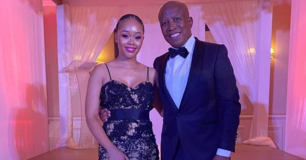 Julius Malema and His Beautiful Wifey Turn Many Heads at an Event