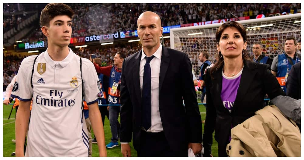 Zidane promotes 18-year-old son to Real Madrid first-team amid injury crisis