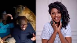 Joyce Omondi Amused by Hubby Wahiga Mwaura's Fear of Hyena During Work Trip