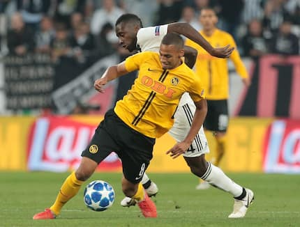 Young Boys score twice to silence Juventus in the Champions League