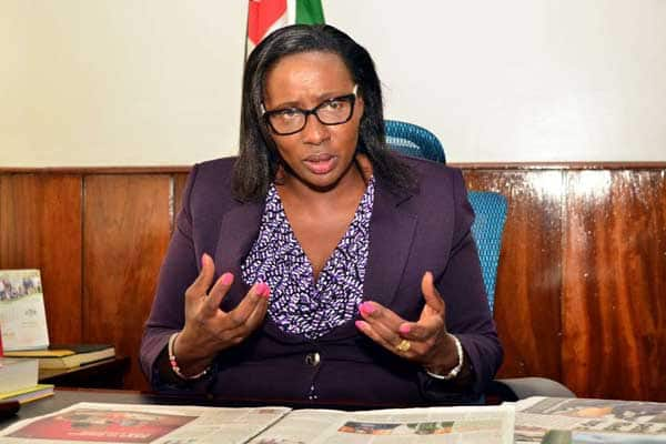 Spika wa Bunge la Kaunti ya Nairobi Beatrice Elachi ajiuzulu na kumpisha naibu wake