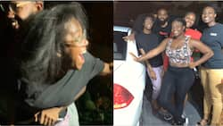Friends save KSh 2,500 weekly for 8 months to buy car for their bestie on her birthday