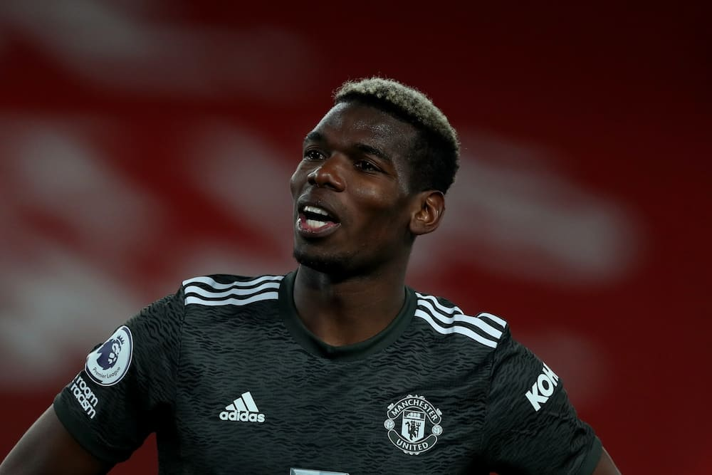 What Pogba did to his teammates in dressing room after EPL draw against Liverpool finally revealed