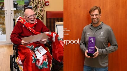 Klopp surprises Liverpool's oldest fan by sending him invitation letter for Crystal Palace game