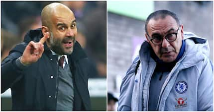 Chelsea coach leaves Pep Guardiola furious after Man City's defeat at Stamford Bridge