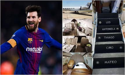 Barcelona star Lionel Messi acquires new private jet for a whopping KSh1.5 billion (photos)
