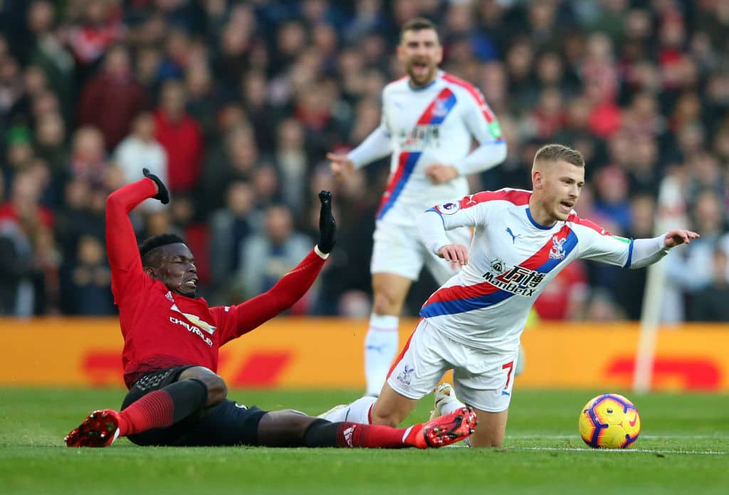 Crystal Palace battle Man United to barren draw at Old Trafford