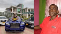 Babake Diamond Asema Hana Haja ya Kubebwa Kwenye Gari Lake la Rolls Royce, Anasubiri kifo