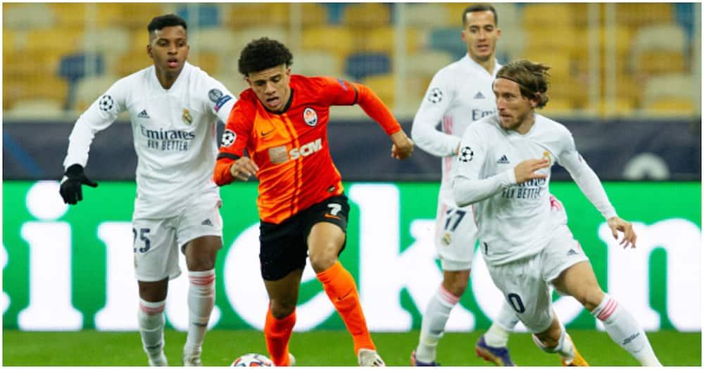 Shakhtar Donetsk vs Real Madrid: La Liga giants suffer 2-0 defeat in Champions League