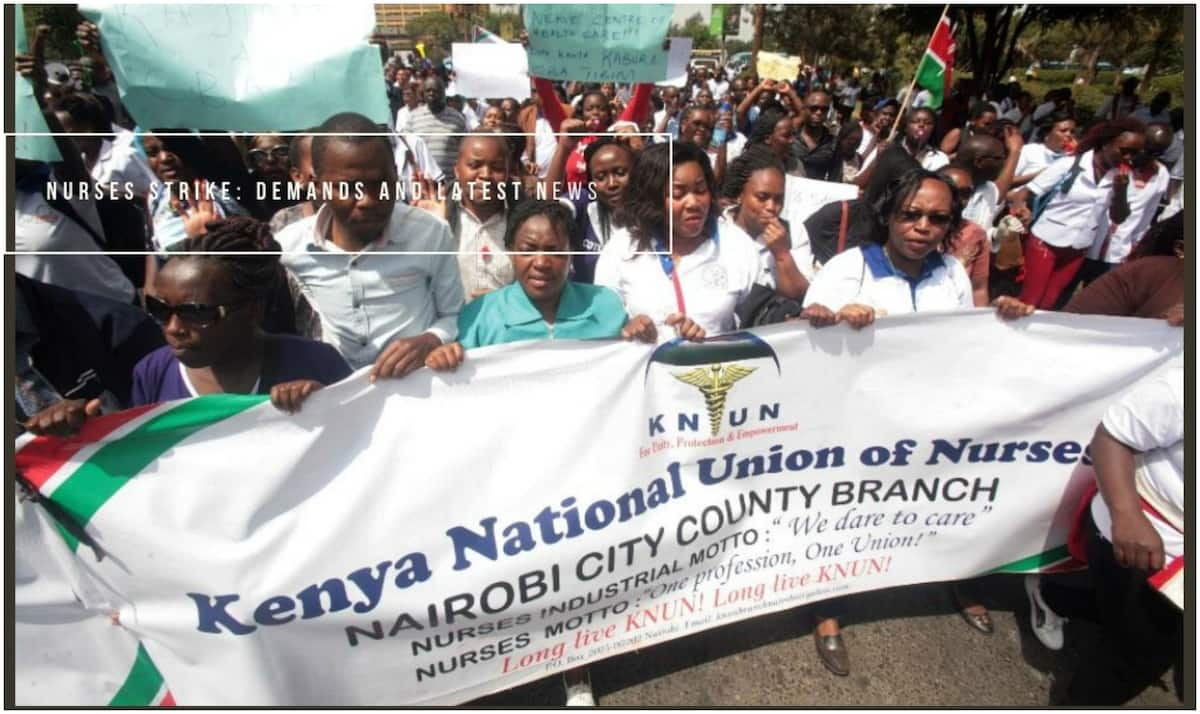 nurses strike in 2018