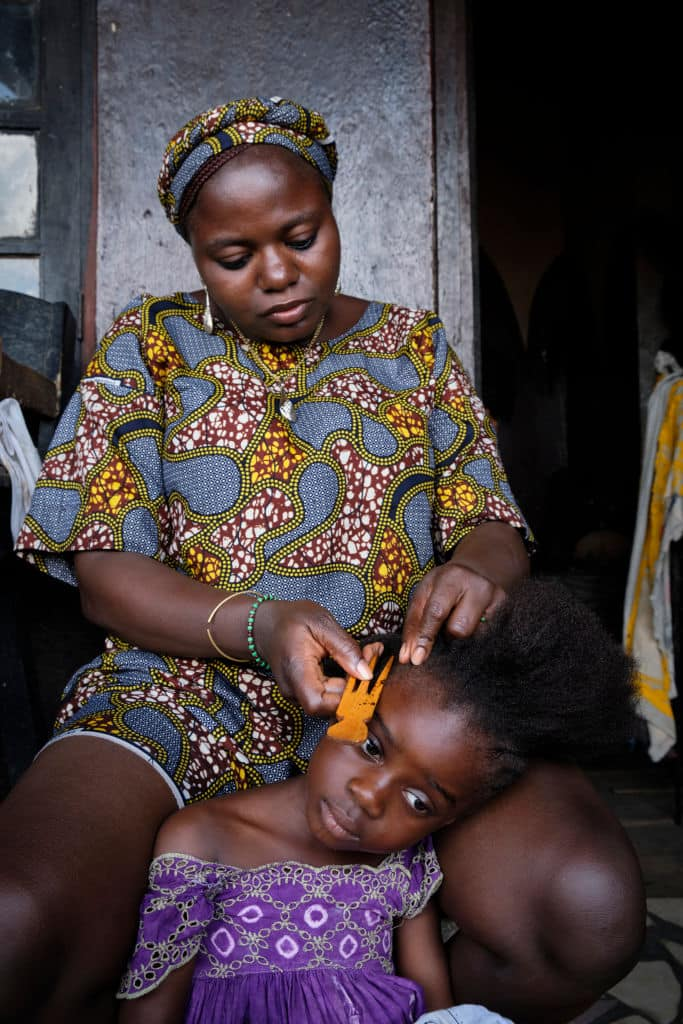 African hair accessories