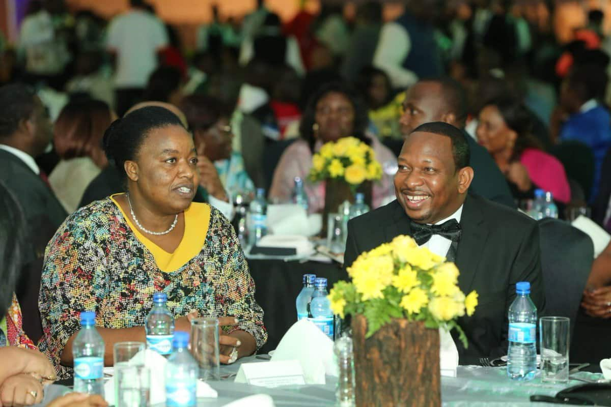 Nairobi governor Mike Sonko unleashes cheeky American accent in Blue Conference dinner