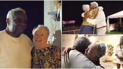 Video Captures Emotional Moment Couple Hug Tightly While Celebrating their 60th Wedding Anniversary