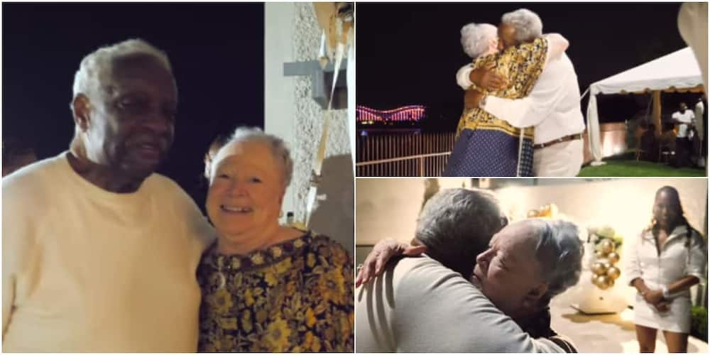 The interracial couple have been married for 60 years