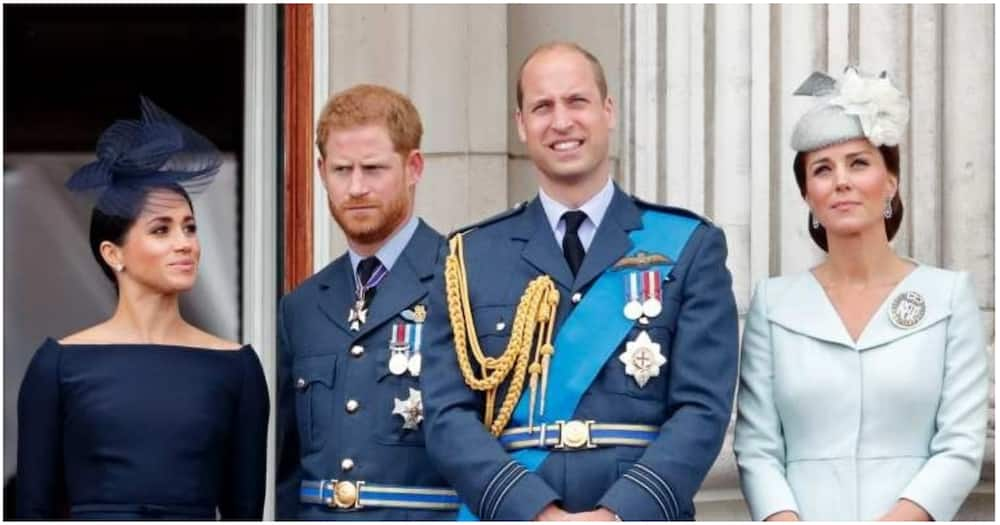 Prince William defends royal family, says hasn't talked to Harry yet