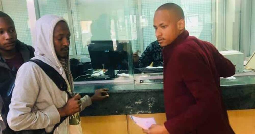 Cosmas Mutua: Ex-watchman sponsored by Babu Owino to complete university education deregistered again