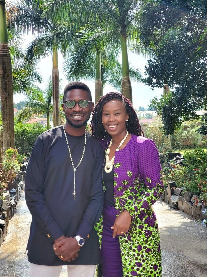 Bobi Wine's wife showers him with sweet message online on their 19th wedding anniversary