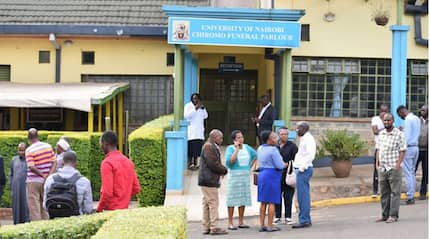 14 Riverside Drive: Emotions run high as families gather at Chiromo mortuary to identify bodies of kins