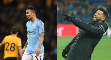 Man City fans slam Sergio Aguero for his action on the bench in win over Wolves