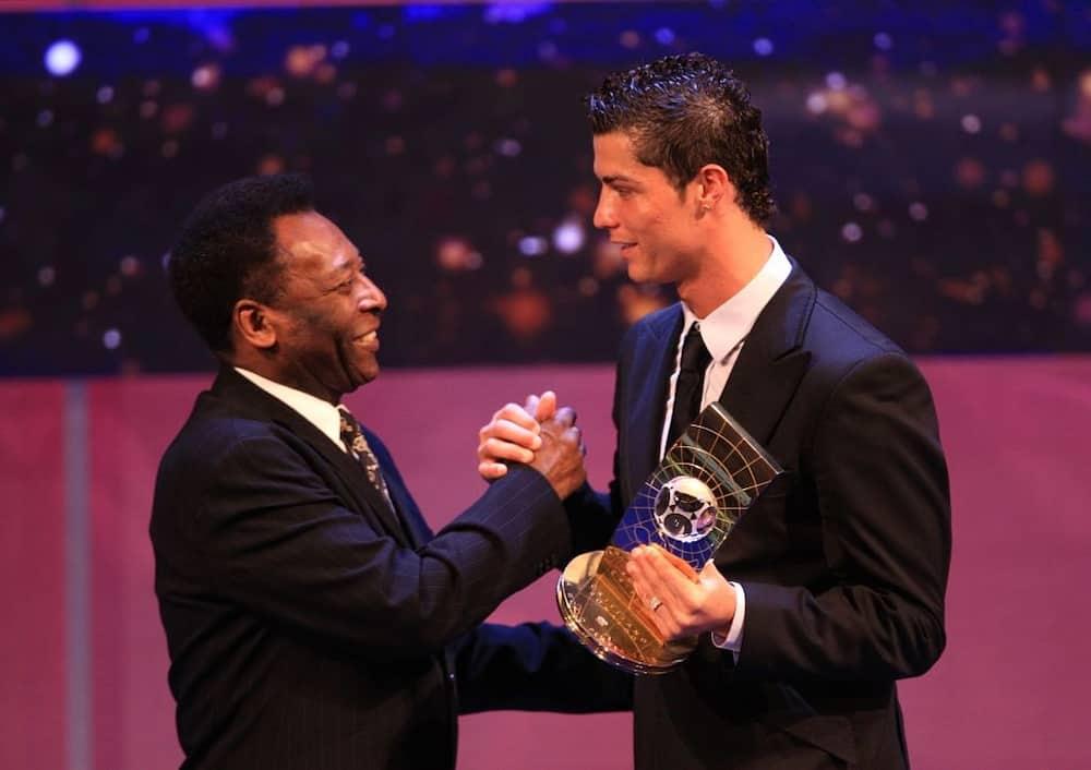 Football legend Pepe finally congratulates Cristiano Ronaldo after breaking his official goals record