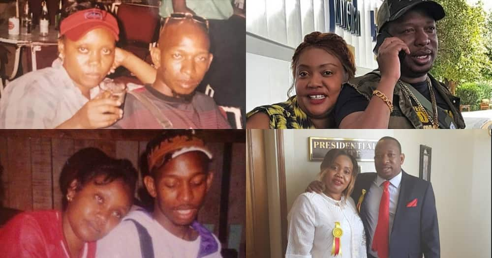 """Mike Sonko, wife Primerose celebrate 21 years of marriage: """"Happy anniversary to us"""""""