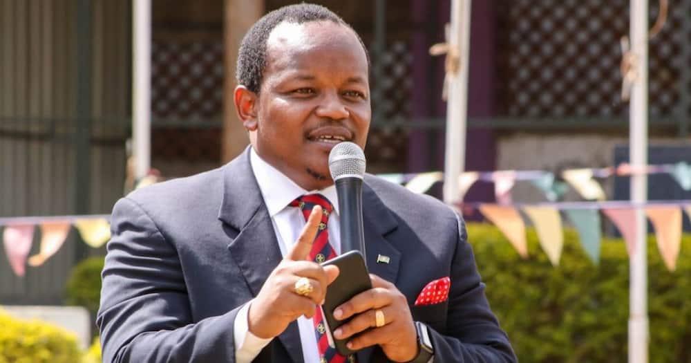 Moses Kuria Apinga Karata ya Ngunjiri Inayopanga Kumtimua Waziri Fred Matiang'i