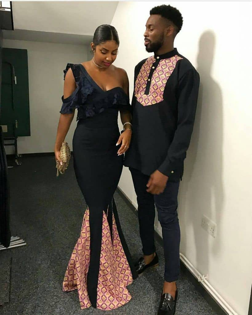 African wedding attire for couples