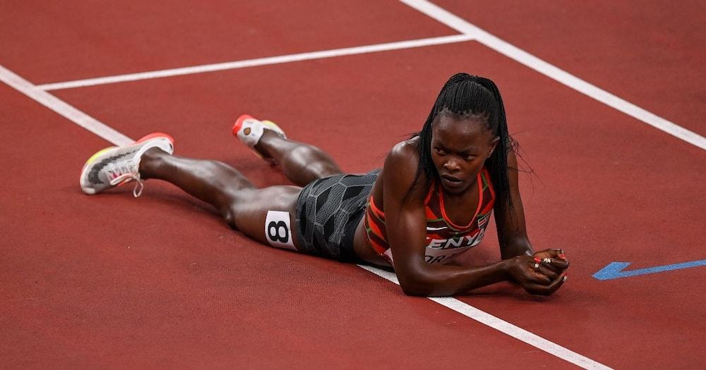 Mary Moraa for team Kenya