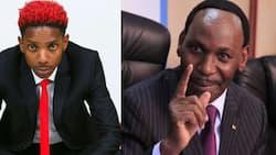 """Eric Omondi Asherehekea Baada ya Ezekiel Mutua Kufutwa Kazi: """"Nilimwambia"""""""