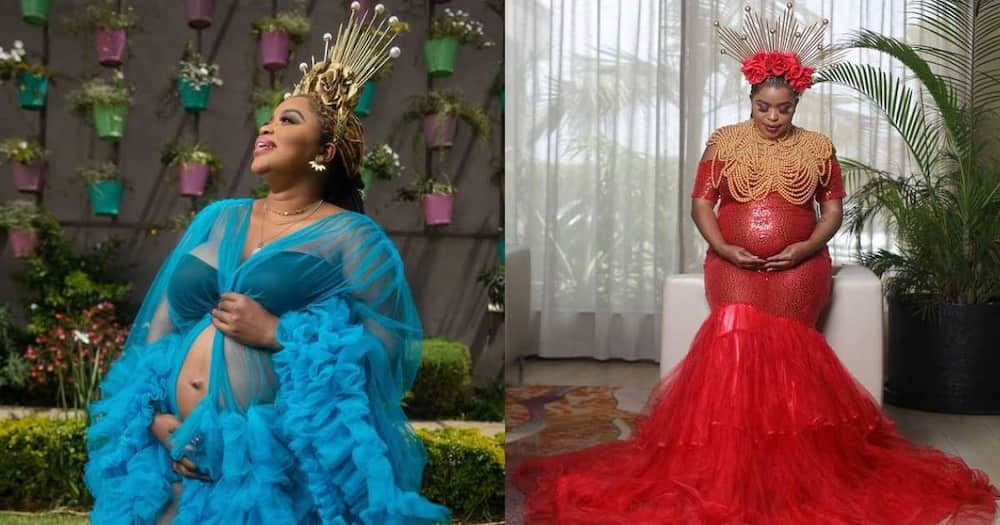 Five magnificent photos of Mwende Macharia glowing during her pregnancy
