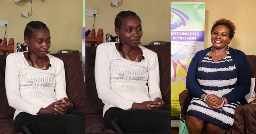 Caroline Muroki and Judy Kihumba.