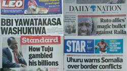 Kenyan newspapers review for March 5: Ruto allies want President Uhuru to attend Nakuru BBI rally, vow not to submit views to Raila