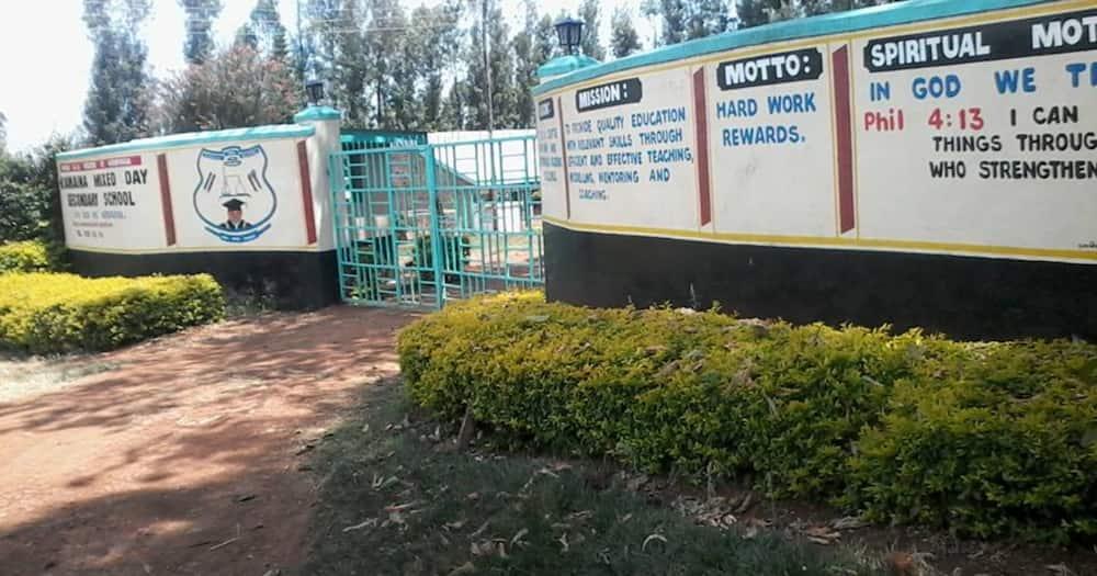 Kiamaina Secondary School.