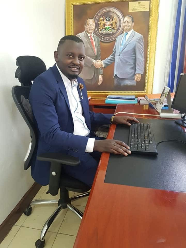ODM national youth leader leaves ICU days after testing positive for COVID-19
