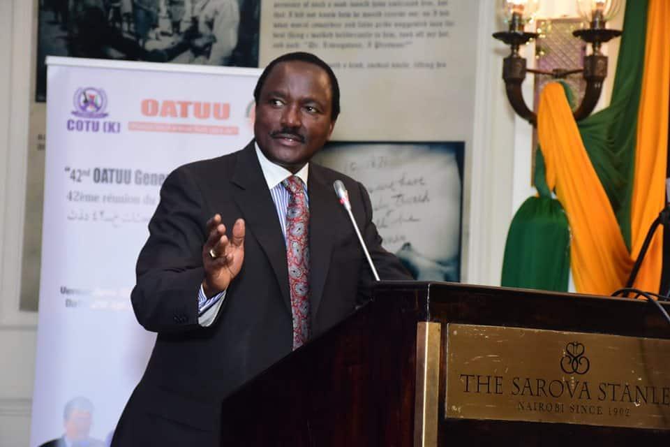 Kalonzo Musyoka says he'll blame Ruto, Raila incase of surge in COVID-19 infections