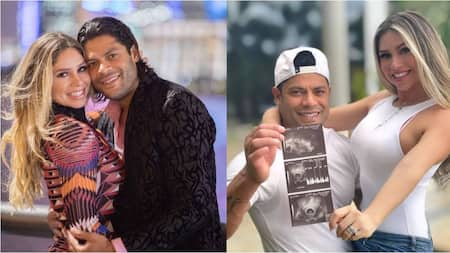 Brazilian Striker Hulk Announces He and His Ex-Wife's Niece Are Expecting Their Fourth Child
