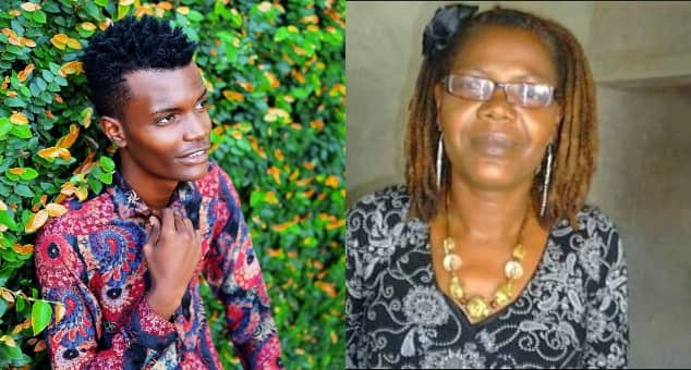 Fans thrilled after Machachari's Baha shares TBT photo of his late mum Wanade