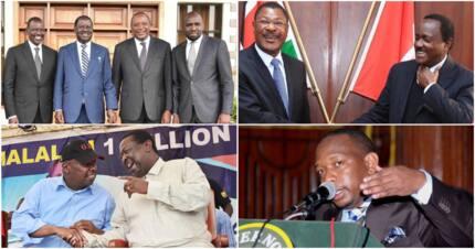 Kenyans' messages to Raila, Uhuru and Ruto on their 2018 leadership on TUKO videos
