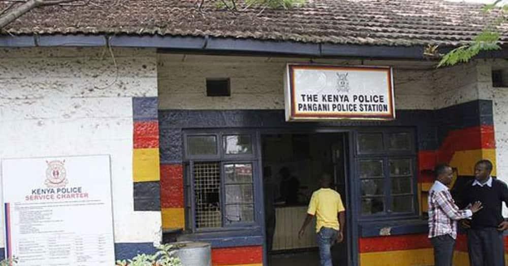The entrance of Pangani Police Station. Photo: Kenya Police.