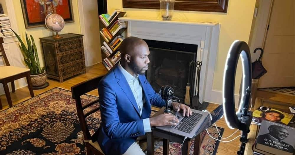 Larry Madowo notes he's 1st black to deliver lecture at Carleton University in 24 years