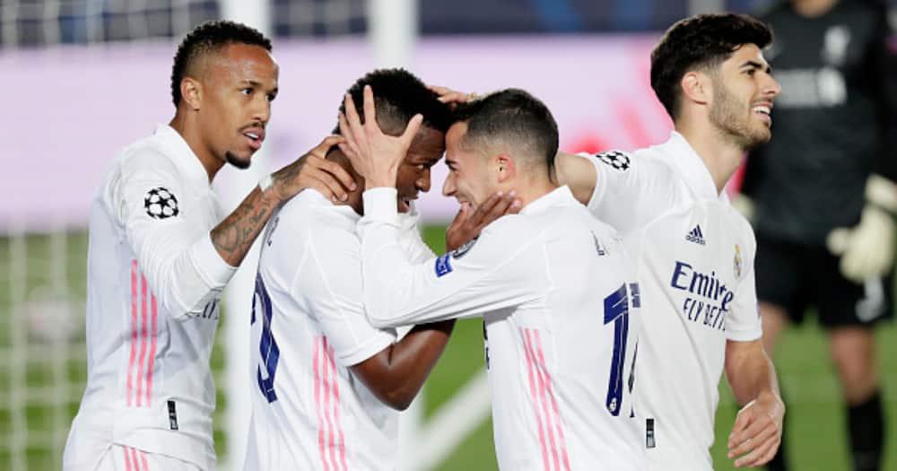 Champions League: Vinicius Jr Stars as Real Madrid Demolish Liverpool 3-1