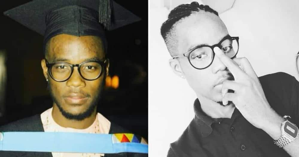 A young graduate from KwaZulu-Natal has taken to social media to look for job opportunities. Image: @Nduduzo_Carsa/Twitter
