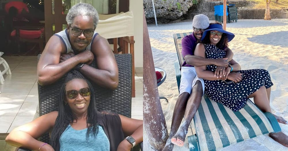 Lukoye Atwoli and his wife Maureen.