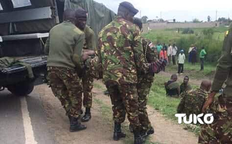 Garissa: KDF soldiers, police officer exchange fire by mistake